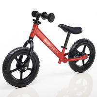 "Velobici Boot""R 12"" Balance Kids Bike Red Bootr Running 2016"