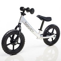 "Boot'R 12"" Balance Kids Bike White Bootr Running 2016"