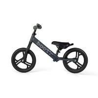 2017 Velobici Boot'R V2 Anodised Aluminium Balance Kids Bike Black Running 1.9Kg