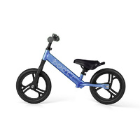 2017 Velobici Boot'R V2  Anodised Aluminium Balance Kids Bike Blue Running 1.9Kg