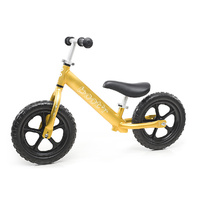 2017 Velobici Boot'R V2 Anodised Aluminium Balance Kids Bike Gold Running 1.9Kg