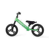 2017 Velobici Boot'R V2 Anodised Aluminium Balance Kids Bike Green Running 1.9Kg