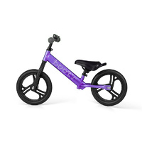 2017 Boot'R V2 Anodised Aluminium Balance Kids Bike Purple Running 1.9Kg