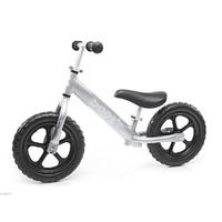 2017 Boot'R V2 Anodised Aluminium Balance Kids Bike Silver Running 1.9Kg