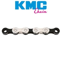 Kmc X10 10Sp 10 Speed 116L Bicycle Chain Silver/Grey For Shimano & Sram