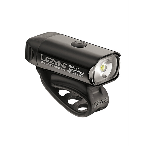 Lezyne Hecto Drive XL 300 Lumen LED Bicycle Cycling Front Light Black