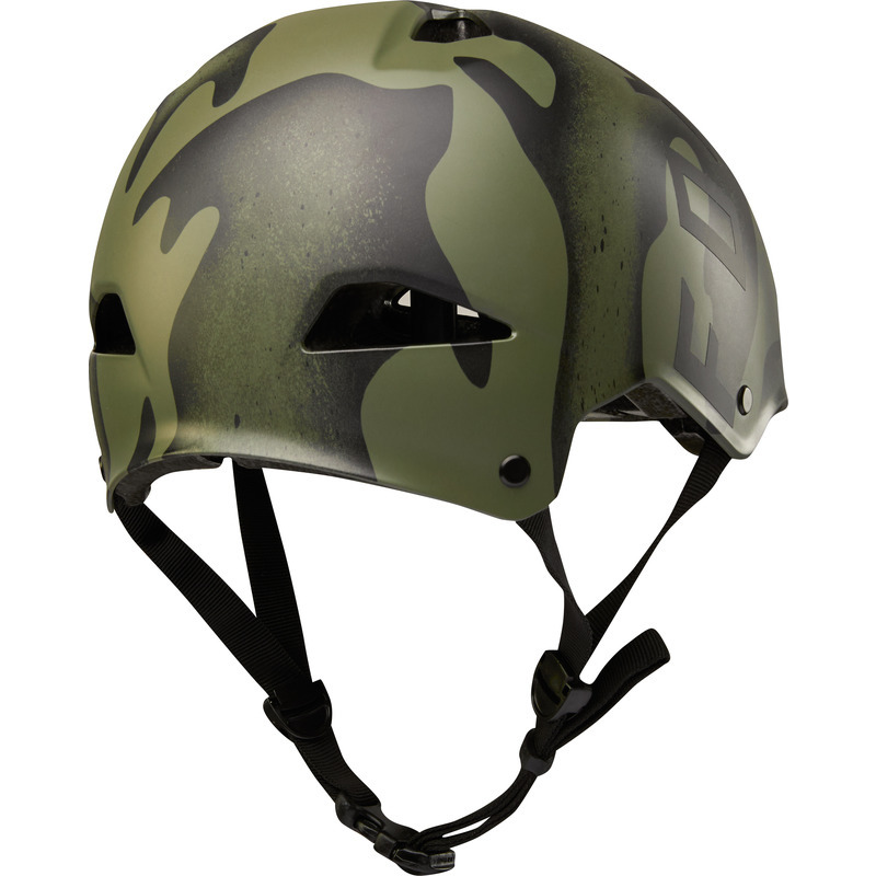 Fox Flight Splatter Helmet Black//Gold/  / size S