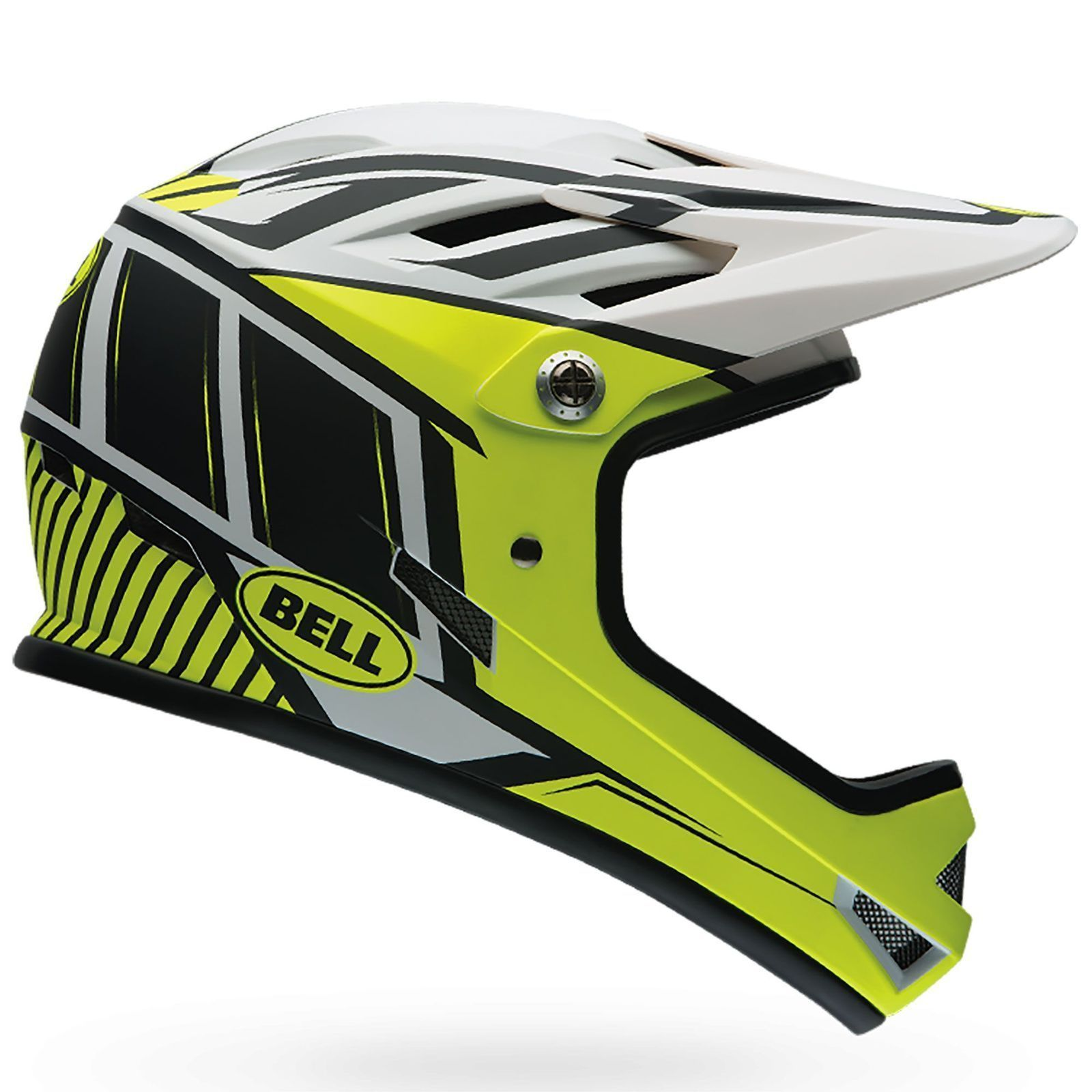 ce4a56573a6 Bell Sanction Full Face Bmx Enduro Bike Cycling Crash Helmet  Colour   Retina Sear   Size  M