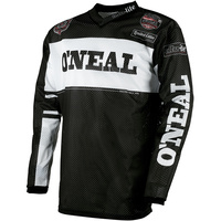 ONEAL 2019 ULTRA LITE 75 BLACK/WHITE JERSEY