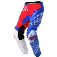 ONEAL 2018 ELEMENT BURNOUT PANT RED/WHITE/BLUE ADULT