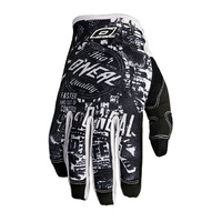 Oneal Mx Gear Jump Wild Black/Whit Motocross Dirt Bike Adult & Youth Gloves 2016