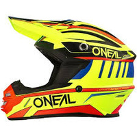 2017 Oneal 7 Series Chaser Helmet Hi Viz/Red/Yellow