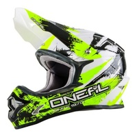 Oneal 2018 3 Series Shocker Helmet Black/Neon Yellow Youth