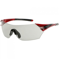 Tifosi Podium Metallic Red Fototec Sunglasses W/ 2 Extra Lenses