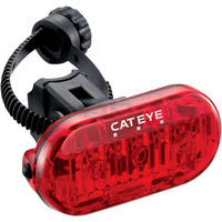 Cateye Tl-Ld135-R Omni 3 Rear Tail Light Taillight Flashing Led Bike Red