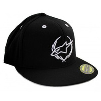 Alpinestars Astars Exec Flatbill Fitted Hat Black