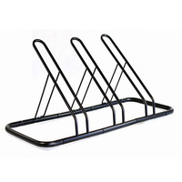 1 - 3 Bike Floor Parking Rack Storage Stand Bicycle