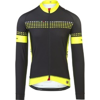 GIORDANA FRC TRADE WINTER JERSEY BLACK/FLUORO