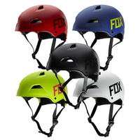 Fox Flight Hardshell Bike Cycling Helmet BMX Skate Scooter