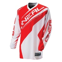 Oneal Mx Element Racewear Motocross Adult Jersey Red/White 2016