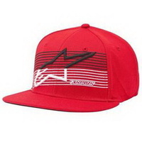 Alpinestars Underlined Flatbill Hat Red