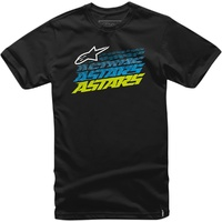 Alpinestars Hashed Short Sleeve Tee T-Shirt Black