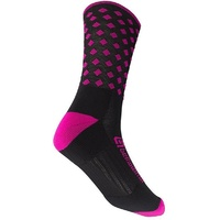 BELLWETHER PINNACLE SOCKS FUCHSIA