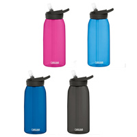 Camelbak Eddy Spill Proof Water Hydration bottle 1L 1000ml BPA Free Assorted Colours