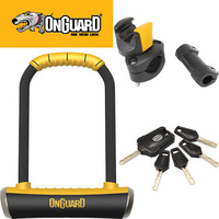 Onguard Pitbull Medium 90 X 175Mm U-Lock Includes Quick Release Carrying Mount