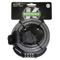 Kryptonite Keeper 1018 Bicycle Lock Combo W/Bkt