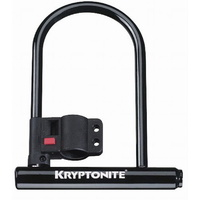 "Kryptonite Keeper 11 Std  4"" X 8""  Bicycle U Lock Keyed Carry Bracket Included"