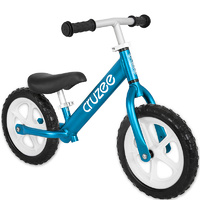 "Cruzee Two 12"" Aluminium Balance Kids Bike Blue"