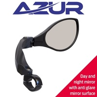Azur Optic Bike Cycling Bicycle Mirror- Anti Glare
