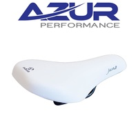 Azur Bicycle Saddle Pro Range Seat Juna - White