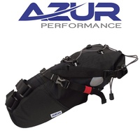 Azur Bike Bicycle Large Waterproof Saddle Bag 210D 8.1 Litre