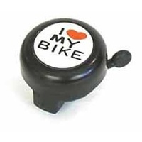 Alloy I Love My Bike Design Bicycle Bell
