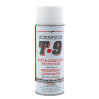 Boeshield T9 12Oz Bike Chain Lube T-9 Aerosol Spray Lubricant Waterproof Wax