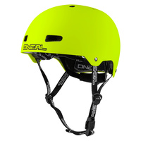 ONEAL DIRT LID ZF HELMET MATTE NEON YELLOW Bmx Bike Skate Scooter Mountain Bike Bicycle