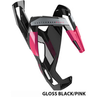 Elite Custom Race Plus Bottle Cage Gloss Black Pink