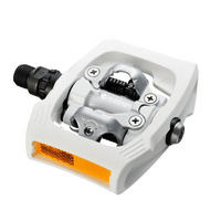 Shimano Pd-T400  Click'R Touring  Commuting Spd Pedals  White