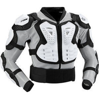 Fox Racing Titan Sport Jacket Chest Armor White 2016