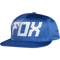 Fox Racing Navigate Snapback Mens Hat Cap Blue