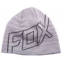 FOX RACING ADULT MENS RIDE BEANIE LIGHT GREY