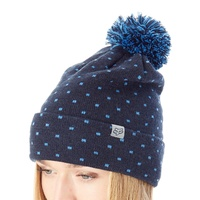 Fox Snow Bunny Womens Beanie Midnight