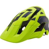 Fox Metah Thresh Mountain Bike Helmet Fluro Yellow