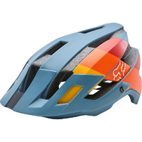 Fox Flux 2.0 Drafter Mtb Bike Cycling Helmet Bicycle Mountain Slate Blue