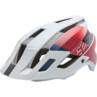 Fox Flux 2.0 Drafter Mtb Bike Cycling Helmet Bicycle Mountain Cloud Grey