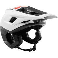 2019 New Fox Racing Dropframe MTB Bike Bicycle Helmet White/Black