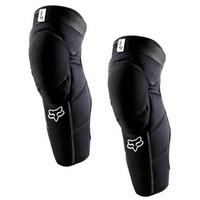 Fox Launch Pro Knee/Shin Guards Pads Black