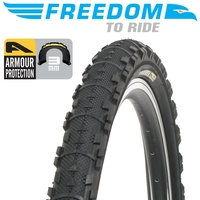 "Freedom Bicycle Wire Bead Bike Tyre Gravel Armour Protection - 26""x1.95"""
